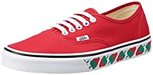 Vans Authentic Strawberry Printsole Womens Trainers Strawberry - 7 UK