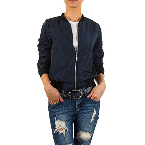 Ital Camicia Donna Dunkelblau Giacca design wPSqpwv6y