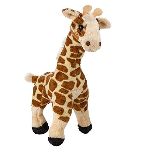 """Kicko Soft Plush Giraffe - 11"""" Stuffed Jungle Animal Toy and Pillow for Bedtime Pal, Playroom Decoration, Children Educational Playset"""
