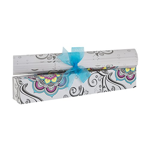 Scentennials MOSAIC HARMONY (6 SHEETS) Scented Fragrant Shelf & Drawer Liners 16.5'' x 22'' - Great for Dresser, Kitchen, Bathroom, Vanity & Linen Closet by Scentennials Scented Drawer Liners
