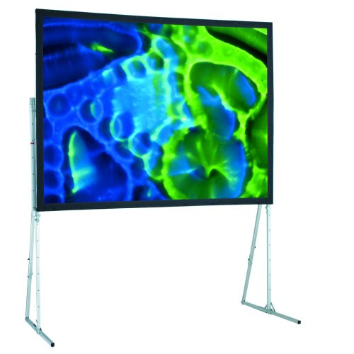Ultimate Matte White Folding Portable Projection Screen Viewing Area: 12' H x 12' W (Screen Folding Ultimate Portable Projection)