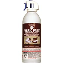 Deval Products UP38090-08M Upholstery Spray Fabric Paint, 8-Ounce, Saddle Brown