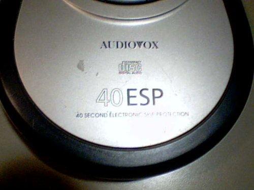 Venturer Electronics, Inc. Venturer Audiovox Model:dm8903-40 Portable Cd Player Compact Disc Digital Audio 40 ESP 40 Second electronic Skip Protection Cd Player (Grey/black Color Version) by Venturer Electronics, Inc. Venturer Audiovox (Image #5)