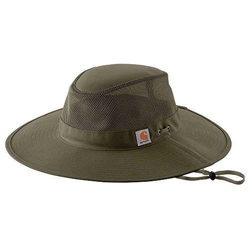 - Carhartt Women's 103031 Women's Odessa Sun Hat - M/L - Army Green