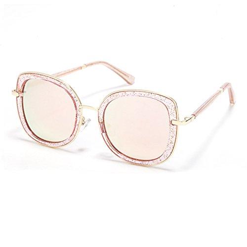mode couleur changement femme série lunette graduel monture la soleil membrane carré TIME100 de de Lunettes 2017TSGL048 Rose Smileyes avec à la wSyqCOxTyZ