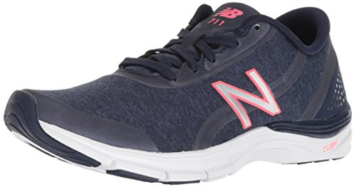 New Balance Women's 711 v3 Cross Trainer, Navy, 8 B US