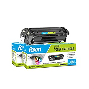 Foxin FTC-88A Toner Cartridge Compatible for Hp/Canon Laser-Jet Series (Black)