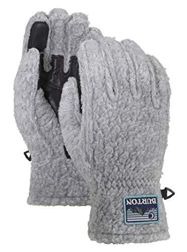 Burton Unisex Stovepipe Fleece Glove, Gray Heather, Large