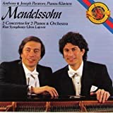 Mendelssohn: 2 Concertos For 2 Pianos & Orchestra by Mendelssohn, Paratore, Lajovic (1990-10-25)
