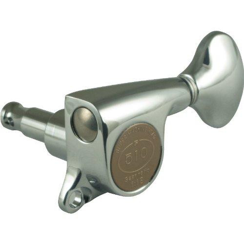- Gotoh Mini 510 Chrome Tuners (6-in-a-line)