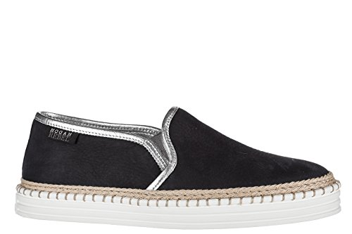 Hogan Dame Styre Slip På Release Sneakers R260 Blu R3syFmv