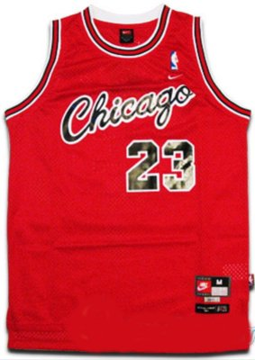 90427f224 Image Unavailable. Image not available for. Color  Michael Jordan  23  Chicago Bulls Retro NBA Jersey ...
