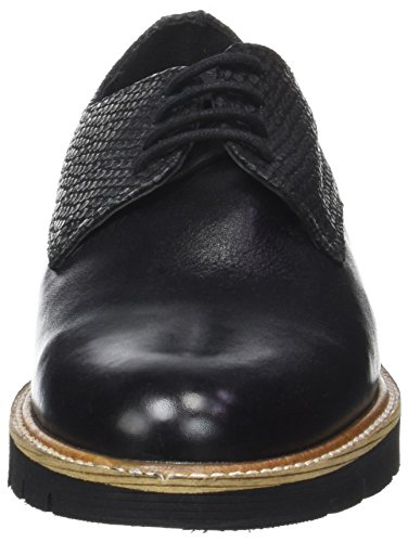 Derby Noir Saule Zapatos Hush Noir Puppies Mujer t4Uqw