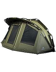 CampFeuer Vistent Storm Karpertent voor 2 personen, voor vissers met 3000 mm waterkolom, waterdicht, 2-persoons bivvy tent, vistent met bodem