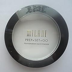 Milani Transparent Face Powder - 01 Prep + Set + Go (Pack of 2)