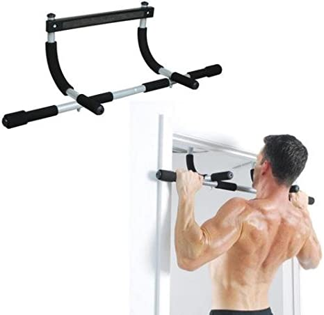 JFIT Deluxe Multi Exercise Doorway Pull-Up Bar with Comfort Grips