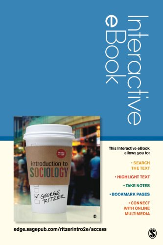 Introduction to Sociology Interactive Ebook Access Code