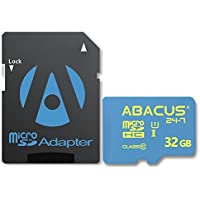 Abacus24-7 32 GB micro SD Memory Card for BLU Advance 5.0 HD, Life Max, One X2, Vivo 5R, Air, Studio G Plus, C, M HD, 6.0, X8 and XL 2, Dash X2 and JR, Energy X 2, Neo XL, R1 HD, Pure XR, Selfie 2