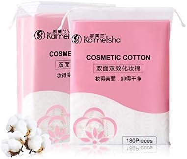 360 almohadillas de algodón para eliminar el maquillaje, compresas ...
