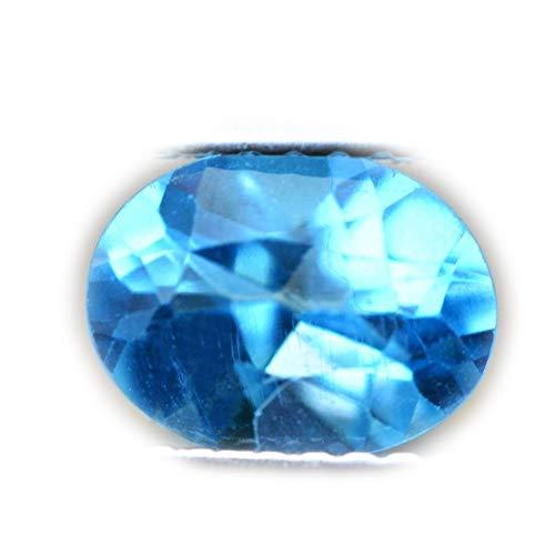 Lovemom 1.68ct Natural Oval Swiss Blue Topaz Brazil #R