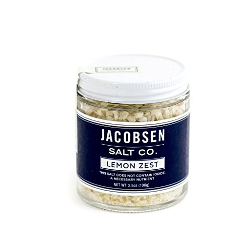Lime Zest (Jacobsen Salt Co. Infused Sea Salt, Lemon Zest, 3.5 Ounce)