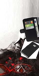 // PHONE CASE GIFT // Moda Estuche Funda de Cuero Billetera Tarjeta de crédito dinero bolsa Cubierta de proteccion Caso Samsung Galaxy S6 EDGE / Assassin /