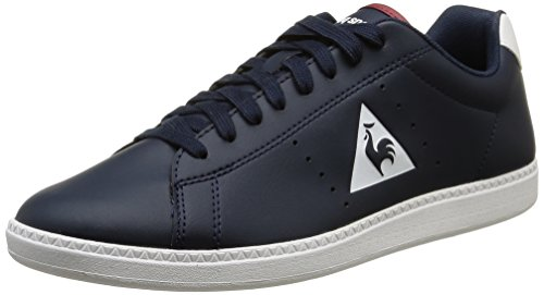 Le Coq Sportif Courtone S Lea Herren Sneaker Blau (Dress BlueDress Blue)