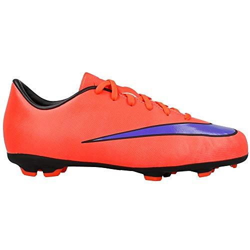 379541a0e Nike Jr Mercurial Victory V FG Soccer Cleats (Bright Crimson, Persain  Violet) (1)