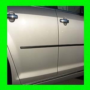 2011-2012 DODGE RAM 1500 2500 3500 CARBON FIBER SIDE / DOOR TRIM MOLDINGS 2PC 11 12
