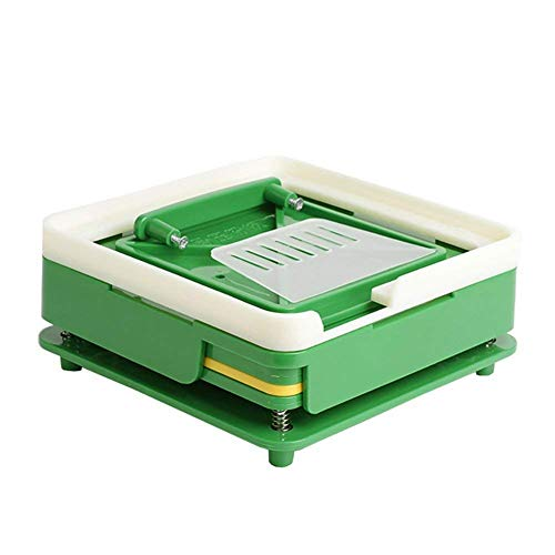 100 Holes (0#) Capsule Holder With Tamper for Size 0 capsules Holding Tray Pill Dispensers & Reminders
