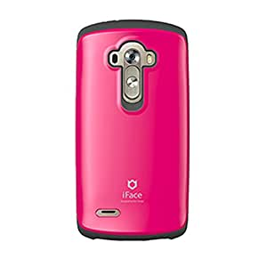 iFace Sensation Cell Phone Case for LG G4 - Retail Packaging - Hot Pink
