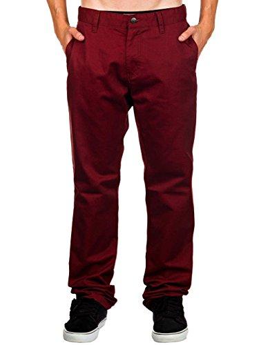 Pantalon Pant Volcom Chino Bordeaux Homme Frozen q0gtFwz