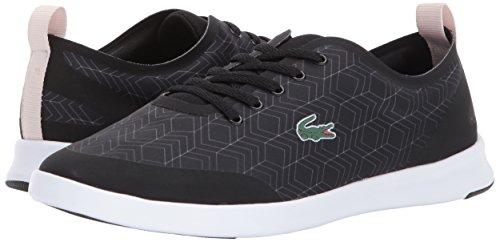 Lacoste Women's Avenir 417 2 Sneaker, Black, 8 M US