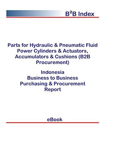 Parts for Hydraulic & Pneumatic Fluid Power Cylinders & Actuators, Accumulators & Cushions (B2B Procurement) in Indonesia: B2B Purchasing + Procurement Values