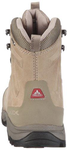 Vaude Women's Arakan Sympatex Mid 20274 - Zapatillas de senderismo de ante para mujer Beige