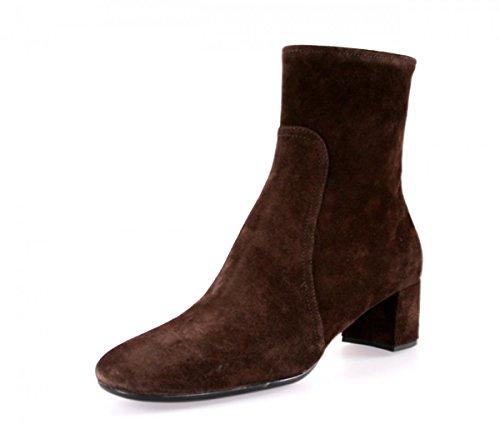 (Prada Women's 3T5524 Brown Leather Half-Boot EU 36.5 / US 6.5)