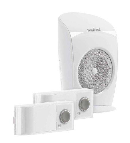 Honeywell D3110S EVO+ Funkgong Set (2 Taster und ein Funkgong ...