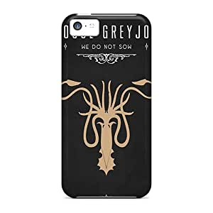 New Game Of Thrones House Greyjoy Tpu Case Cover, Anti-scratch Xfq1189OsLA Phone Case For Iphone 5c