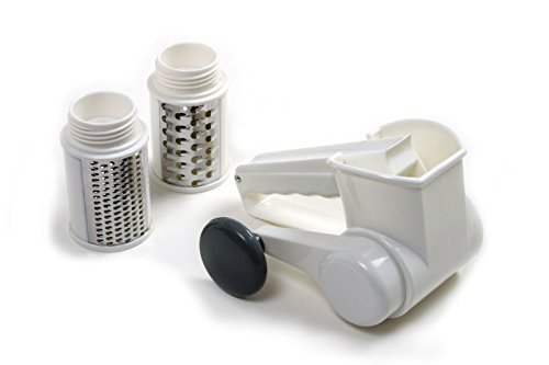 Norpro 342 Jumbo Deluxe 3 Drum Cheese Grater Parmesan Nuts Vegetables Chocolate ()