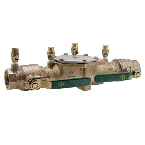 Double Check Valve Assembly - Watts 0063234 1.5in Female LF007M2-QT Double Check Valve Assembly