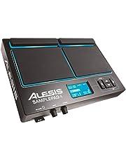 Alesis Sample Pad 4 | Instrumento compacto de percusión y activador de muestras con 4 almohadillas sensibles a la velocidad