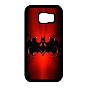 Case for Samsung Galaxy S6, Retro Batman Design