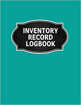 inventory record logbook inventory log book record sheet large 8 5
