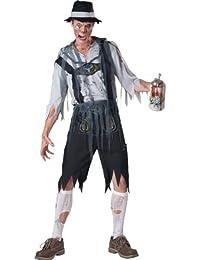 InCharacter Costumes Men's Oktoberfeast Zombie Costume