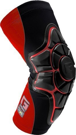 G-Form Pro-X Elbow Pads, Black/Red, Adult X-Large