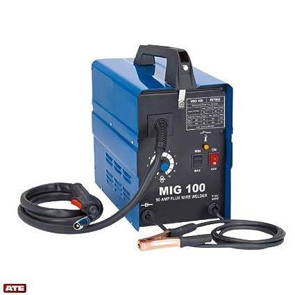 Alambre flujo soldador MIG-100