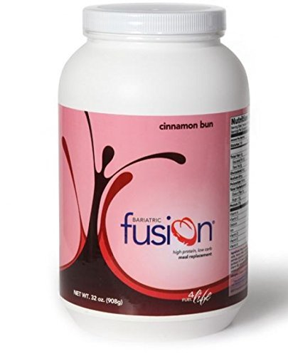 Bariatric Fusion Meal Replacement Cinnamon Bun 32 oz. tub...