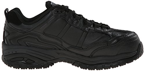 Stride Up Lace Chatham Men's Black Resistant Soft Work Slip Sneaker Skechers wp1qBxRp