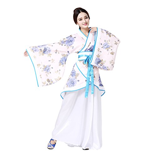 Ez-sofei Women s Ancient Chinese Han Dynasty Traditional Costume Set Hanfu  Dresses(S 101bf89b5