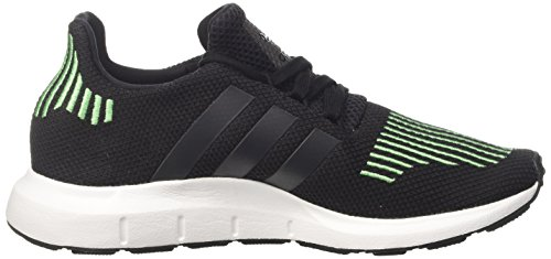 adidas Swift Run J, Zapatillas de Gimnasia Unisex Niños Negro (Core Black/utility Black F16/crystal White S16)